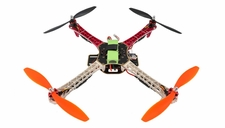 AeroSky Quadcopter  4 Channel RTF w/ LED (Red)