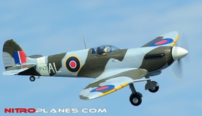 Airfield 5Ch 2.4Ghz Spitfire 1400mm w/Electric Retracts RTF (Camo)