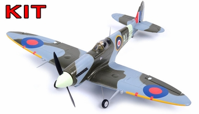 "AirField 800mm (31.5"") Spitfire RC Warbird Airframe Kit"