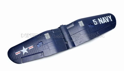 AirField 800mm F4U Main wing set (Blue) 93A292-02-Blue-MainWingSet