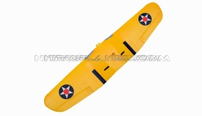 AirField 800mm F4U Main wing set (Yellow) 93A292-02-Yellow-MainWingSet