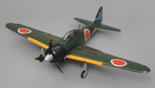 Airfield A6M Zero Kit Version 6 Channel Warbird RC Plane 1450 Wingspan (Green)