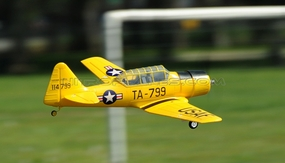 Airfield AT6 Texan 800mm RC Warbirds Airframe KIT Version (Yellow) RC Remote Control Radio 93A606-800-AT6-Yellow-KIT
