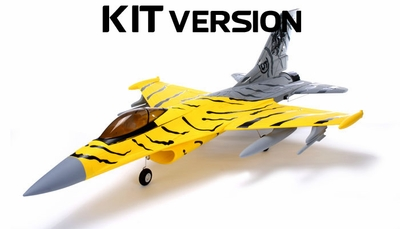 AirField Electric Ducted Fan 70MM RC Jet KIT (Tiger) RC Remote Control Radio