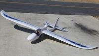 Airfield Giant Convertible EDF Power RC Glider Almost Ready to Fly 2400mm Wingspan