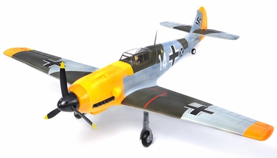 AirField RC 5-Ch BF109 Messerschmitt RC Warbird Plane Kit Airframe w/ Electric Retracts (Camo)