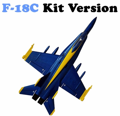 AirField RC F18C 64mm EDF Jet Kit (Blue Angel)