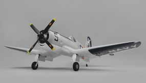 Airfield RC F4U Corsair 1450mm Warbird Airplane Ready to Fly 2.4ghz 1450mm Wingspan(Grey)