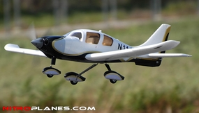 AirField Sky Trainer 400 4-Ch RC Airplane w/ Brushless Motor/ESC/Lipo RTF (Black)