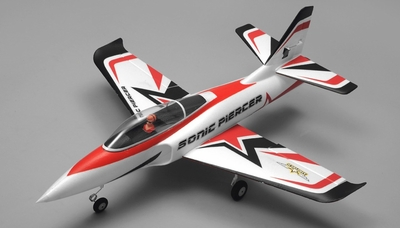 Airfield Sonic Piercer 64mm EDF Airplane Jet Almost Ready to Fly RC 4 Channel 800mm Wingspan