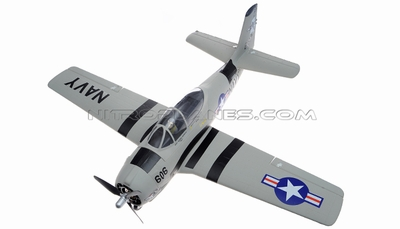 Airfield T-28 Trojan 800mm RC Warbirds Airframe KIT Version (Grey) RC Remote Control Radio