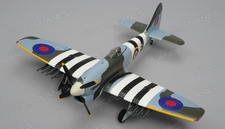 Airfield  Tempest 4 Channel RC Warbird 800mm Wingspan Kit Version