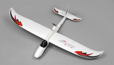 AirWing 4-CH Whisperwind 1372MM RC EPO Glider 2.4G RTF (Red)