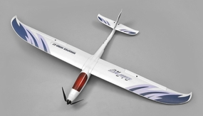 AirWing 4-CH Whisperwind 1700MM RC EPO Airplane Glider 2.4G RTF (Blue) RC Remote Control Radio