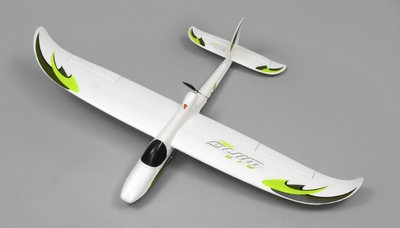 AirWing 4-CH Wingsurfer 1372mm RC Trainer/Glider EPO RTF 2.4Ghz (Green)