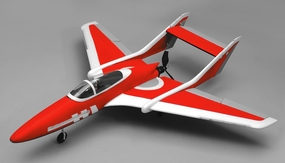 Airwing RC Bobcat Jet w/ Electric Retracts 6 Channel Almost Ready to Fly RC 1143mm Wingspan (Red)