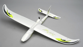 Airwing RC WingSurfer Airplane Glider 4 Channel Almost Ready to Fly RC 1400mm Wingspan (AA Green) RC Remote Control Radio