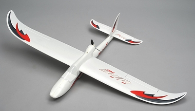 Airwing RC WingSurfer Airplane Glider 4 Channel Almost Ready to Fly RC 1400mm Wingspan (AA Red) RC Remote Control Radio