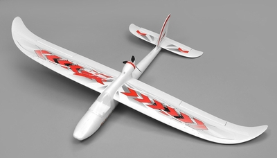 Airwing RC WingSurfer Airplane Glider 4 Channel Almost Ready to Fly RC 1400mm Wingspan (Red)