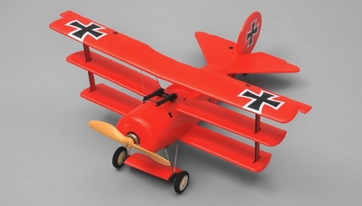 AirWing Red Baron 4 Channel RC Bi-Plane EPO RTF 2.4Ghz (Red) RC Remote Control Radio