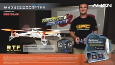 Align M424 Remote Control RC Quadcopter Super Combo Ready-to-Fly RTF RM42401X