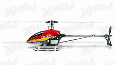 Align RC 6 Channel Helicopter 600 Nitro Pro Kit KX0160NPC(RED CANOPY) KIT
