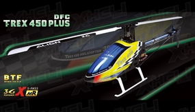 Align RC 6 Channel Helicopter T-REX 450 Plus DFC Super Combo BTF RH45E09X