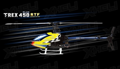 Align RC 6 Channel Helicopter T-REX 450 Plus Super Combo RTF KX015083