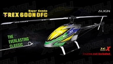 Align RC 6 Channel Helicopter T-REX 600 Nitro DFC Super Combo RH60N01X KIT