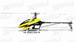 Align RC 6 Channel Helicopter T-REX 600 Nitro Super Pro Combo (BLUE) RED CANOPY KX0160NPG KIT  Nitro Power
