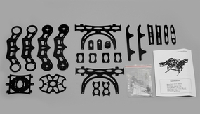 Angel 250 QuadCopter Airframe KIT w/ PTZ Camera Mount