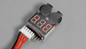 AOK-BL8S Battery Checker and Low Voltage Buzzer Alarm