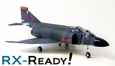 ARF F-4E Phantom 64mm EDF RC Jet (without TX, RX)