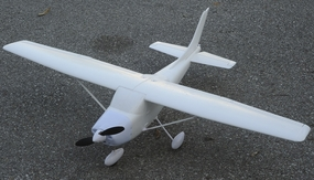 "ARF Receiver-Ready 4-CH Air Field RC Sky Trainer - 55"" RC Airplane w/ Brushless Motor & ESC (No Decal)"