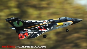 ARF Receiver-Ready 64MM 5-CH F3 Tornado EDF Jet w/ Sweepback Wings (Black)
