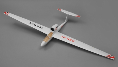 Art Tech ASK 21 RC EDF Airplane Glider 4 Channel Almost Ready to Fly 2000mm Wingspan RC Remote Control Radio
