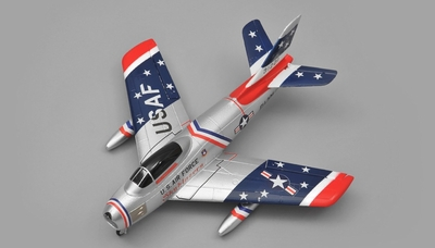 Art Tech F86 4 Channel EDF  RC Plane RTF 2.4Ghz RC Remote Control Radio