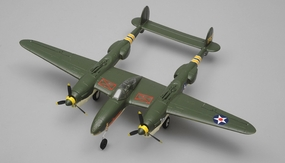 Art Tech Mini P38 RC 4 Channel Warbird Airplane Almost Ready to Fly  800mm Wingspan