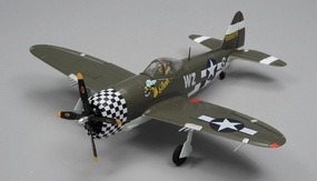 Art Tech RC P47 650mm Ready to Fly 2.4GHz 4 Channel Warbird RTF 650mm Wingspan RC Remote Control Radio