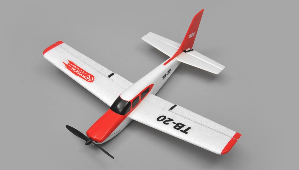 Art Tech TB20 Sports Trainer Airplane 3 Channel RC Plane ...