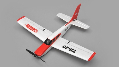Art Tech TB20  Sports Trainer Airplane 3 Channel  RC Plane RTF 2.4Ghz