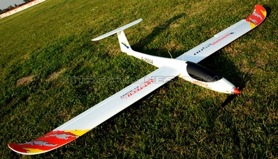 "ArtTech 98"" Wing Span Diamond 2500 3D Electric Powered EPO Glider Airplane 2.4G RTF"
