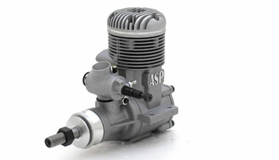 ASP 120AR  2 Stroke Glow Engine with Muffler for Airplane