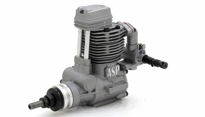 ASP FS61AR 4 Stroke Glow Engine with Muffler for Airplane