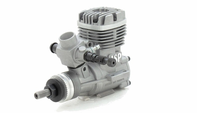 ASP S32A  2 Stroke Glow Engine with Muffler for Airplane