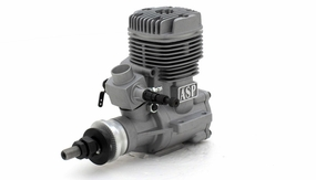 ASP S91A  2 Stroke Glow Engine with Muffler for Airplane
