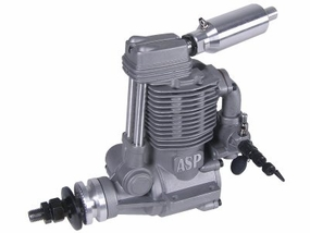 ASP Sanye 4 Stroke FS180AR Glow Engine with Muffler for Airplane 72P-FS180AR
