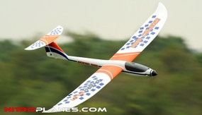 "Big Scale 1.85-Meter (73"") Dynam Sonic 185 Electric Brushless Radio Controlled RC Glider ARF (Almost Ready to Fly)"