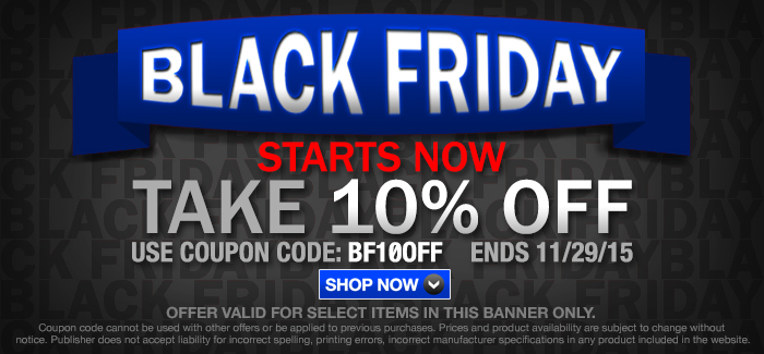 BLACK FRIDAY | EARLY-BIRD SPECIALS!