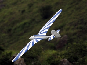 Blue Habciht 2600mm Remote Control Model Airplane Glider ARF